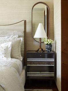 KELLY WEARSTLER | INTERIORS. Master Bedroom, side table. Blodgett Residence, New York