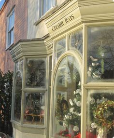 tea shop - or flower shop?