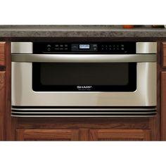 Sharp Kb 6002ls 30 Inch Manual Microwave Drawer St