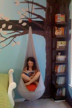 Tree bookshelf... I want this for my room!