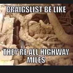 Craigslist #truck #humor