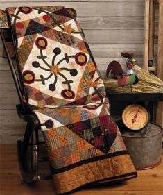 At Home with Country Quilts by Cheryl Wall