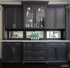 Traditional millwork created in collaboration with Harvey Wise Design. Custom Cabinetry, China Cabinet, Custom Homes, Kitchen Cabinets, Traditional, Luxury, Storage, Furniture, Collaboration