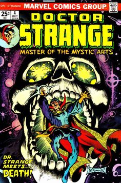 Doctor Strange is another favorite I like. I have two issues of this comic book series!
