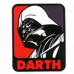 #1081 DARTH pop art , Height 8 cm, decal sticker - DecalStar.com