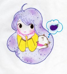 Bee & Puppycat  I love Bee & Puppycat, and this is my own version :3 My fb page: eternal rainbow