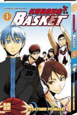 Kuroko's Basket : tome 1, de Tadatoshi Fujimaki. Kazé, 2012. Shônen.