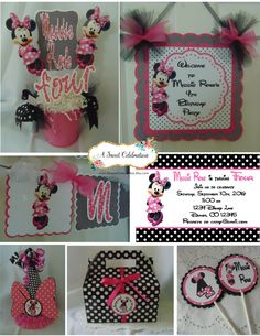 Minnie Mouse Bubble Gum Pink Ultimate by ASweetCelebration on Etsy Happy Birthday Parties, Birthday Box, Disney Birthday, Third Birthday, Happy Birthday Banners, Disney Theme, Birthday Ideas, Minnie Mouse Birthday Decorations, Birthday Centerpieces