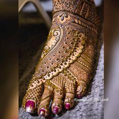 mehndi art by kiran Dulhan Mehndi Designs, Mehandi Designs, Full Mehndi Designs, Mehndi Designs Feet, Wedding Mehndi Designs, Mehndi Design Pictures, Leg Mehendi Design, Leg Mehndi, Mehandi Henna