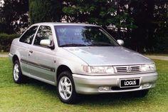 Volkswagen Pointer       La Volkswagen Logus . De dos, la parenté  avec la Ford Orion  est indéniable.     En 1987 , le groupe Volkswa...