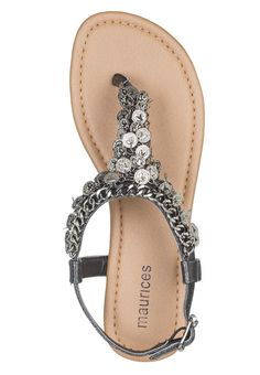 jenna coin sandals - maurices
