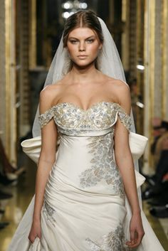 wedding dresses by Zoher morad- 2007 Lebanese designer