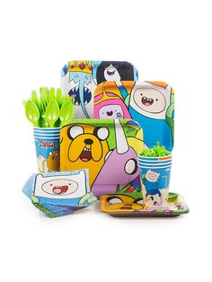 Adventure Time Standard Kit - Birthday Party Supplies & Themed Tableware