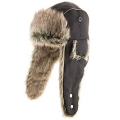 Designed for snow and winter activities, this trapper hat is guaranteed to keep you warm and dry this season. Constructed with two different fabrics for wear during both day and night. The shell is ma