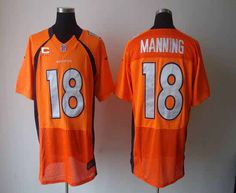 f99a6f773bd Buccaneers Vernon Hargreaves III jersey Nike Broncos Peyton Manning Orange  Team Color With C Patch Men's Stitched NFL Elite Jersey