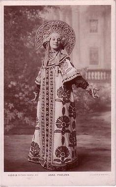 Это цитата сообщения socker Оригинальное сообщениеАнна Павлова в костюме по эскизу Ивана Билибина