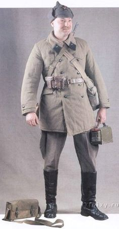 Uniformes del Ejército Rojo VIII-6