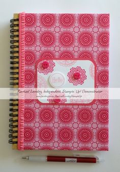 Flirtatious Delicate Doilies journal