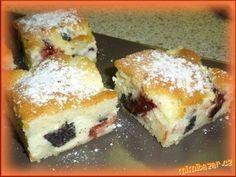 Liaty kolac s tvarohom, makom, dzemom Pecan Pralines, Czech Recipes, Food Dishes, Amazing Cakes, Sweet Recipes, French Toast, Food And Drink, Cheesecake, Sweets