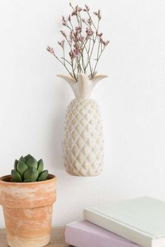 Pineapple Wall Vase