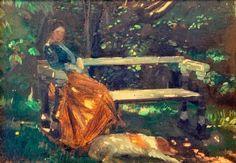 Michael Ancher - Anna Ancher, In the Garden