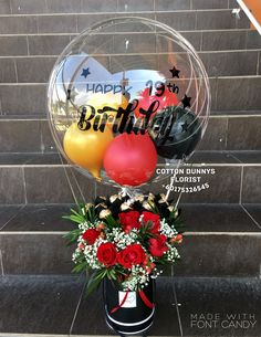 Please do not hesitate to whatsapp me if you require further information Surprise Delivery Penang Kedah Kl Whatsapp No : Balloon Centerpieces, Balloon Decorations Party, Birthday Party Decorations, Clear Balloons, Bubble Balloons, Gift Bouquet, Candy Bouquet, Balloon Flowers, Balloon Bouquet