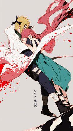 Minato y Kushina  ਉ_ਉ ♥ ♥ ♥ / Naruto shippuden