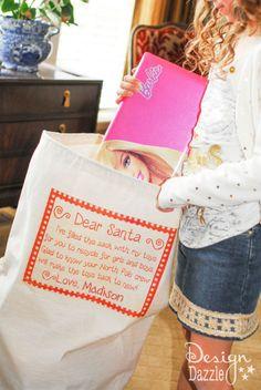 Set out a Santa sack.