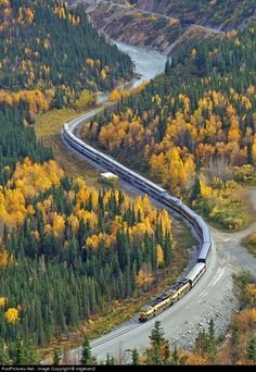 RailPictures.Net Photo: ARR 4324 Alaska Railroad EMD SD70MAC at Healy Canyon, Alaska by Frank Keller