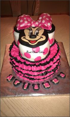 Minnie Mouse Cake — Children's Birthday Cakes