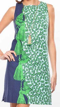 Lilly Pulitzer Stephanie dress, bright navy The Velvet Rope.