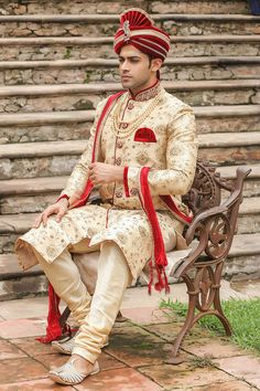 Exquisite All Over Embroidered Sherwani - Designer Wedding Sherwani for Men - Manyavar Indian Wedding Pictures, Indian Wedding Poses, Wedding Dresses Men Indian, Indian Wedding Couple Photography, Wedding Photos, Wedding Outfits, Bridal Pictures, Punjabi Wedding, Indian Weddings