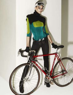 Athletic Cycling Shoots : style singapore january 2011