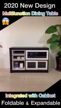 House Furniture Design, Home Room Design, Small House Design, Home Decor Furniture, Folding Study Table, Foldable Dining Table, Study Table Designs, Dining Table Design, Folding Furniture