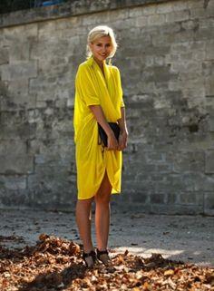 love love love this bright yellow!