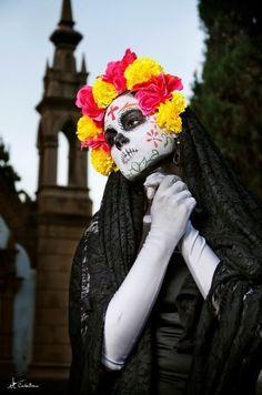 #day of the dead #dia de los muertos #sugar skull