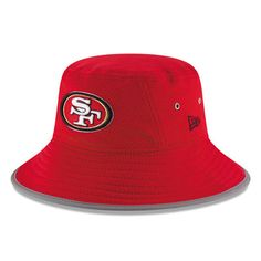 e39749d40 San Francisco 49ers New Era 2016 On Field Training Camp Bucket Hat - Scarlet  Kansas City