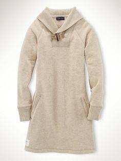 Fleece Dress - Girls 7-16 Dresses & Rompers - RalphLauren.com