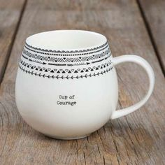 """Cup of Courage"" Mugs"