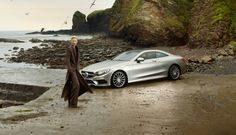 Tilda and a questionably placed Mercedes-Benz S-Class Coupe Star | Short Film [Video]