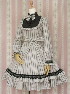 Victorian Maiden / One Piece / Classical Doll Regimental Dress