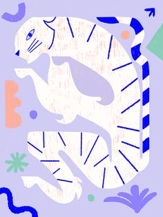 illustration by Jagoda Jankowska instagram: @blueberry.kingdom #slowdownstudio Cute Illustration, Screen Printing, Blueberry, Insects, Cool Stuff, Animals, Inspiration, Instagram, Design