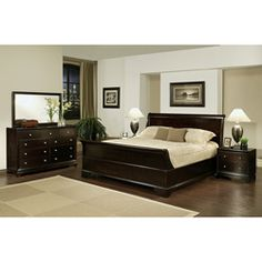 @Overstock - Enrich your home decor with this Kingston California king-size Sleigh bedroom set. This set features solid oak wood construction and includes a king-size bed, two nightstands, one dresser and one mirror.http://www.overstock.com/Home-Garden/Kingston-5-piece-Espresso-Sleigh-California-King-size-Bedroom-Set/6091889/product.html?CID=214117 $2,899.99