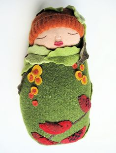 green and red baby by Mimi K, via Flickr