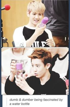keke i thought the water bottle is a perfume bottle~ ^^;; but in the end it is a water bottle~ keke i am such a pabo~