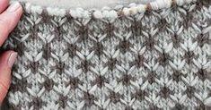 Kaksivärinen sarvineule näyttää hienolta kirjoneuleelta, mutta sen neulominen on helppoa, sillätyössä on vain yksi lanka kerrallaan. Mallikerrassa on 4 silmukkaa ja 8 kerrosta. Yhdessä sarvikuviossa on 4 kerrosta. Ylin ja alin kerros neulotaan harmaalla ja keskimmäiset ruskealla. Kaksi päällekk...