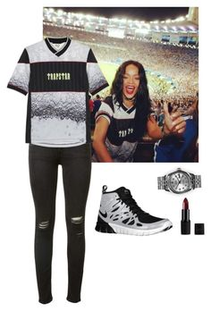 Untitled #31 by jdjmacpherson on Polyvore featuring polyvore, fashion, style, rag & bone, NIKE, Trapstar, Rolex and clothing