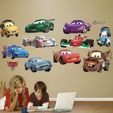 Found it at Wayfair - Disney Pixar Cars Wall Graphic