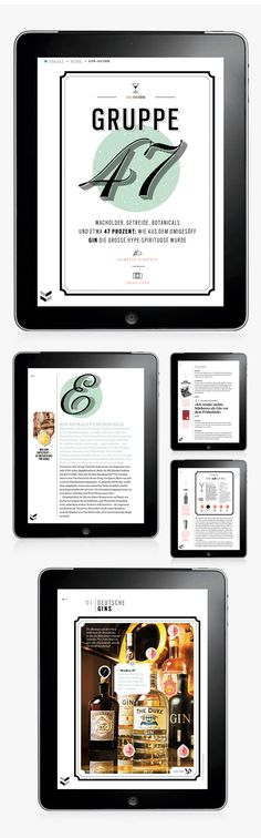 GQ MAGAZIN+ // iPad App Selection // Part II on Editorial Design Served