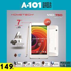 #Hometech MID-750 11 Haziran Perşembe tüm #A101 marketlerde!  Ürün Özellikleri: http://blog.hometech.com.tr/a101-mid-750/